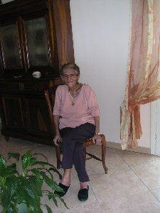 Madame Lucienne ARRIGHI Présidente d'honneur du CIQ