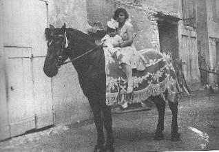 Madame Lucienne ARRIGHI enfant